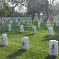 Photo taken at Wood National Cemetery by Dan P. on 5/22/2014
