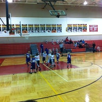 Photo taken at Melissa High School by Kristina S. on 1/19/2013