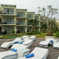 Photo taken at Sheraton Bali Kuta Resort by Dandy H. on 3/30/2013