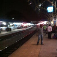 Photo taken at Begumpet Railway Station by Ramakrishna Salana on 4/28/2013