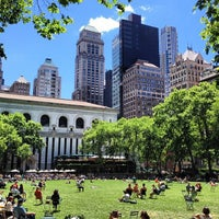 Photo taken at Bryant Park by PurePure G. on 6/13/2013