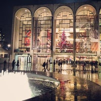 Photo taken at Metropolitan Opera by chris on 12/8/2012
