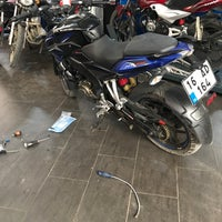 Photo taken at Motocross  Şukla Motor by Murat A. on 10/21/2017