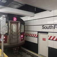 Photo taken at MTA Subway - South Ferry (1) by Mikey K. on 7/8/2017