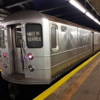 Photo taken at MTA Subway - Bedford/Nostrand Aves (G) by Mikey K. on 7/5/2017