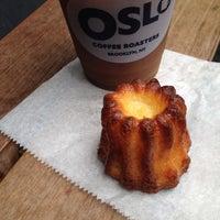 9/30/2014 tarihinde Lisa P.ziyaretçi tarafından Oslo Coffee Roasters'de çekilen fotoğraf