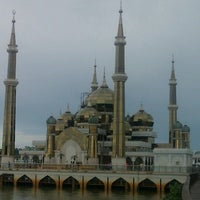 Photo taken at Masjid Kristal by Lily A. on 11/25/2012