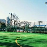 Photo taken at 明治神宮外苑 フットサル信濃町コート by Eiji S. on 1/31/2016