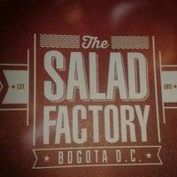 Photo taken at Salad Factory Bogota by Juan Sebastian L. on 4/21/2014