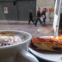 Photo taken at Nicolas Café by Giglia V. on 10/1/2015