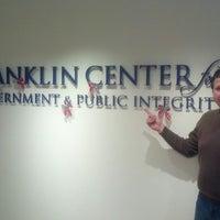Photo taken at Franklin Center for Gov't & Public Integrity by Duane L. on 12/11/2013