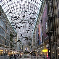Photo taken at CF Toronto Eaton Centre by Content Equals M. on 6/26/2013