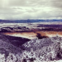 Photo taken at Sypes Canyon Trail Head by LivingBozeman on 11/3/2013