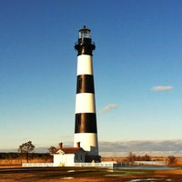 Photo taken at Bodie Island Lighthouse by Rick A. on 2/8/2013