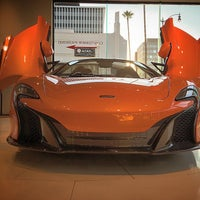 Photo taken at McLaren Auto Gallery Beverly Hills by Fahad A. on 8/28/2015