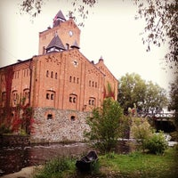 Photo taken at Замок Радомиcль / Radomysl Castle by Iryna S. on 9/14/2013