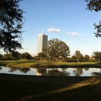 Photo taken at Hermann Park by Cristina G. on 10/31/2012