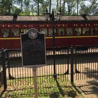 Photo taken at Texas State Railroad Rusk Depot by Aptraveler on 3/26/2017