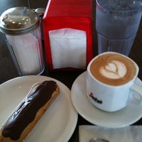 Photo taken at French Riviera Bakery & Cafe by Aptraveler on 3/22/2013