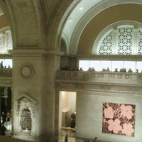 Photo taken at The Great Hall Balcony Bar at The Metropolitan Museum of Art by Elena i. on 12/8/2012