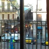 Photo taken at Hostal Boqueria by Alisa K. on 4/9/2013