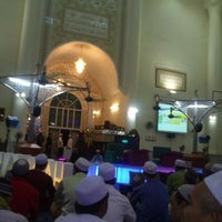 Photo taken at Masjid As-Salam (مسجد السلام) by Zack Z. on 1/11/2013