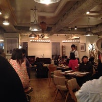 Photo taken at cafe 104.5 by FunkyCat on 10/27/2013