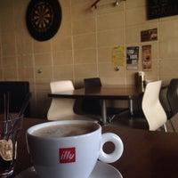Photo taken at Jugar cafe by FunkyCat on 3/15/2014
