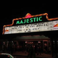 Photo taken at The Majestic Theatre by Mark S. on 2/2/2013