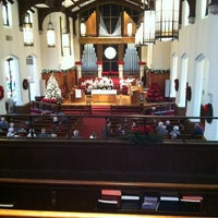 Photo taken at First United Methodist Church by Sarah R. on 1/6/2013