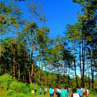 Photo taken at Gunung Puntang by Gita S. on 12/1/2013