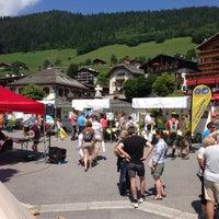 Photo taken at Le Grand-Bornand by Jocelyn V. on 7/7/2013