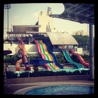 Photo taken at Sengkang Swimming Complex by Firdaus B. on 7/3/2013