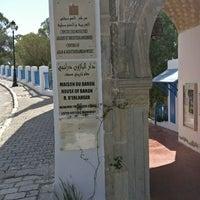 Photo taken at Palais Ennejma Ezzahra (Dar El-Baron d'Erlanger) by Milan U. on 8/31/2017