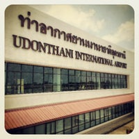 Photo taken at Udon Thani International Airport (UTH) by Oakyman on 4/27/2013