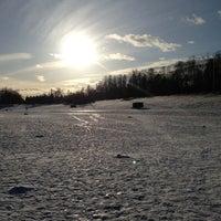 Photo taken at Ольгинский пруд by Alina 👒 B. on 3/24/2013
