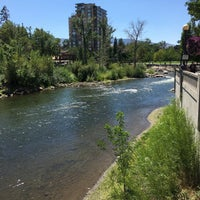 Photo taken at Truckee River by Ali R. on 8/6/2016