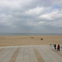 Photo taken at Scheveningse Strand by Nicolai R. on 3/17/2013