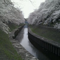 Photo taken at 尾崎橋 by Daisuke H. on 3/23/2013