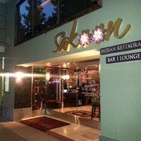 Photo taken at Sakoon Indian Restaurant by Hossam A. on 7/18/2013