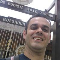 Photo taken at Comunidade Budista Nitirensyu do Brasil by Gilmar A. on 1/8/2014