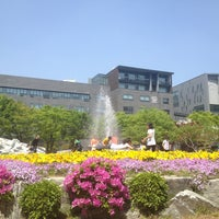 Photo taken at Soongsil University by Kyung min K. on 5/11/2013