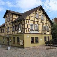 Photo taken at Bistro-Gaststätte ZUR HOFFNUNG by Joachim S. on 8/7/2013