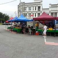 Photo taken at Bazar ramadan Alam Damai by Maria K. on 7/27/2013
