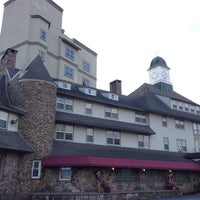 Photo taken at Inn at Pocono Manor by Anthony S. on 10/24/2013