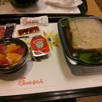 Photo taken at Chick-fil-A by Rishi N. on 10/17/2013