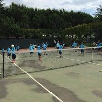 Foto diambil di İTÜ Tenis Kortları oleh Selin S. pada 6/26/2015