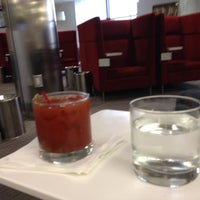 Photo taken at Delta Sky Club by Richard A. on 9/30/2012