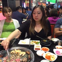 Photo taken at Korean BBQ Delicious Table(맛있는 밥상) by Ekaterina N. on 6/15/2015