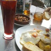 Photo taken at Restaurante Puro Pecato by Inés P. on 1/28/2013